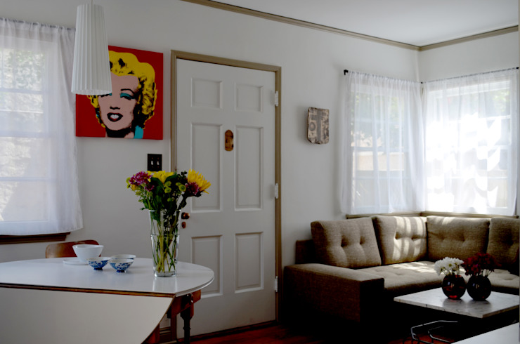 Sunnynook Decor, Los Angeles CA. 2012 Salones modernos de Erika Winters® Design Moderno