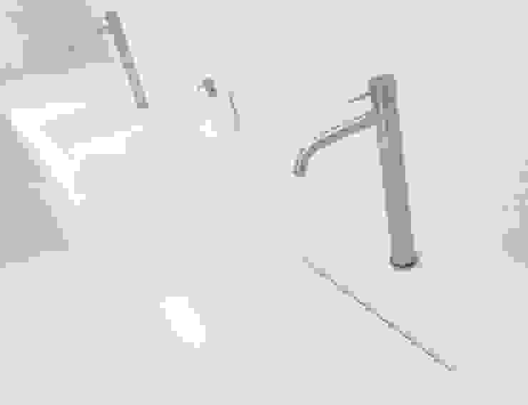 Marike Pulse wastafel maatwerk programma Moderne badkamers van Marike Modern