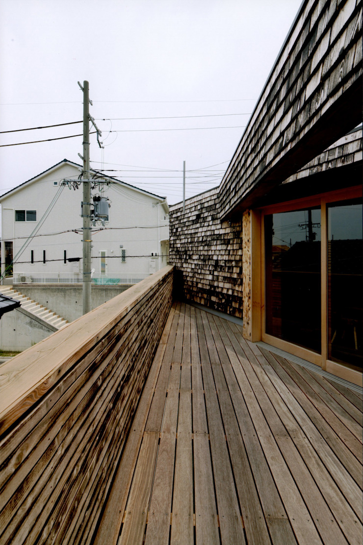 Balcones y terrazas de estilo rural de eu建築設計 Rural