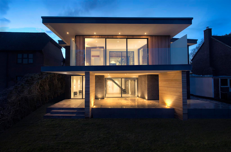 AR Design Studio- 4 Views Modern houses by AR Design Studio Modern