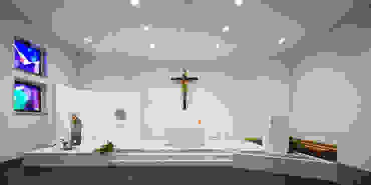 presbiterio Sedi per eventi in stile minimalista di Comoglio Architetti Minimalista