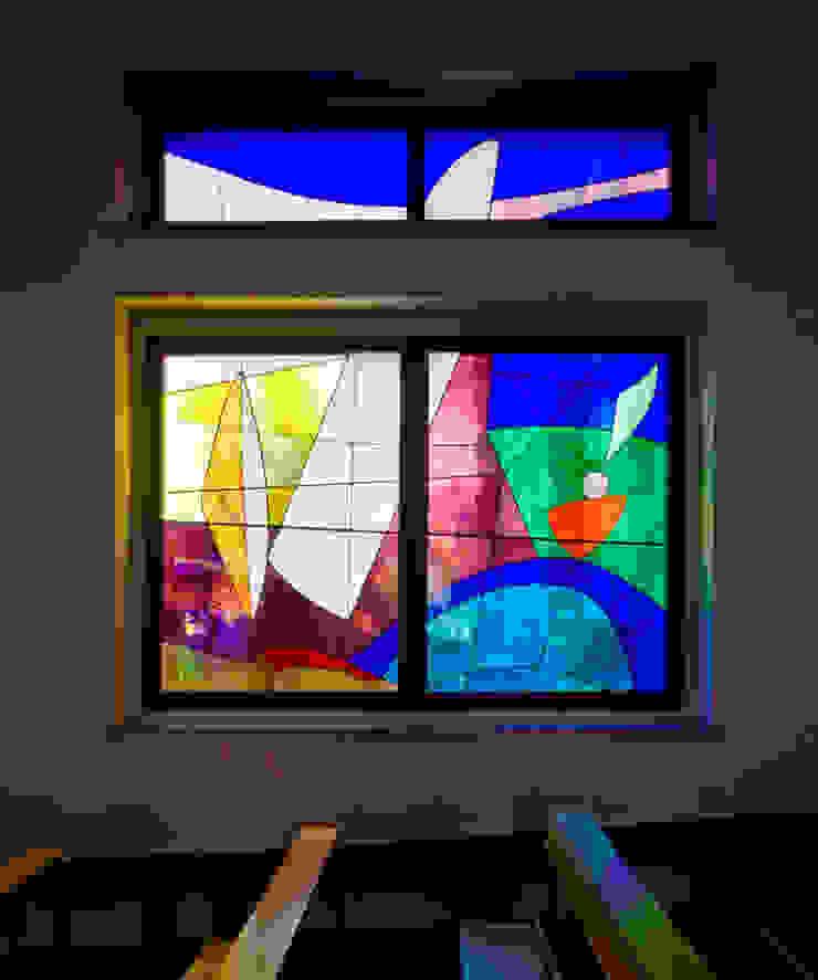 vetrate artistiche Sedi per eventi in stile minimalista di Comoglio Architetti Minimalista