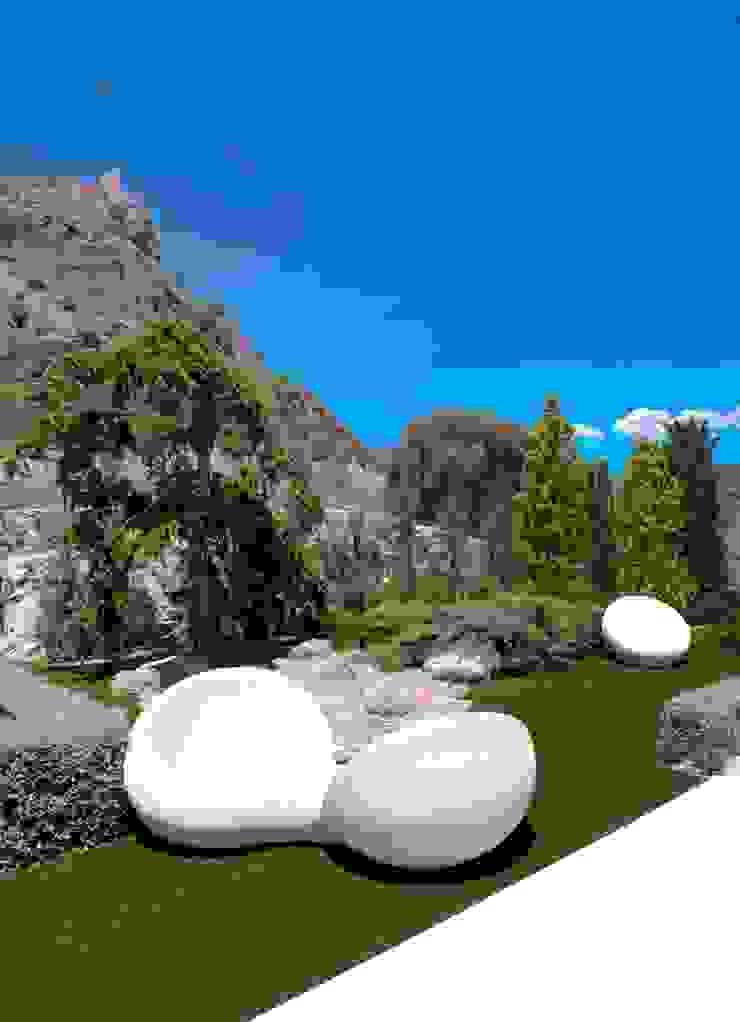 Jardines de estilo moderno de Spainville Inmobiliaria Moderno