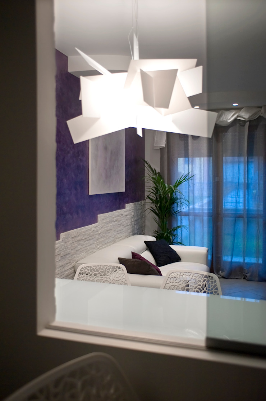 Salon original par Pamela Tranquilli Interior Designer Éclectique