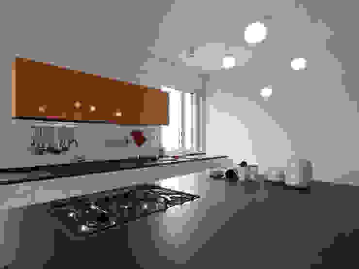 Recupero Sottotetto – Duplex 2 Cucina moderna di enzoferrara architetti Moderno