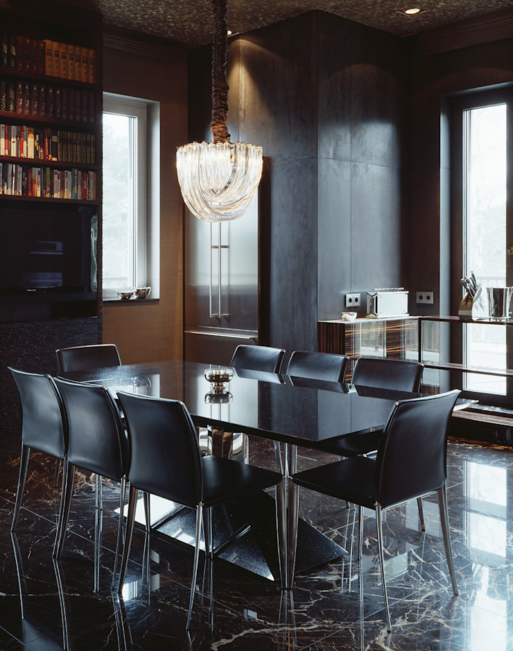 Goldfinkweg Moderne Esszimmer von Davide Rizzo Modern