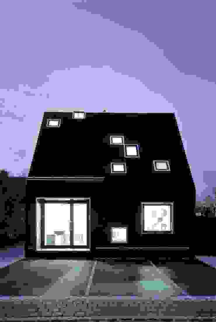 Ansicht Nacht Häuser von Peter Haimerl . Architektur