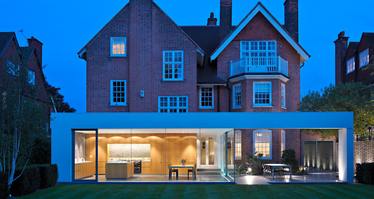 Wimbledon Casas modernas por Gregory Phillips Architects Moderno