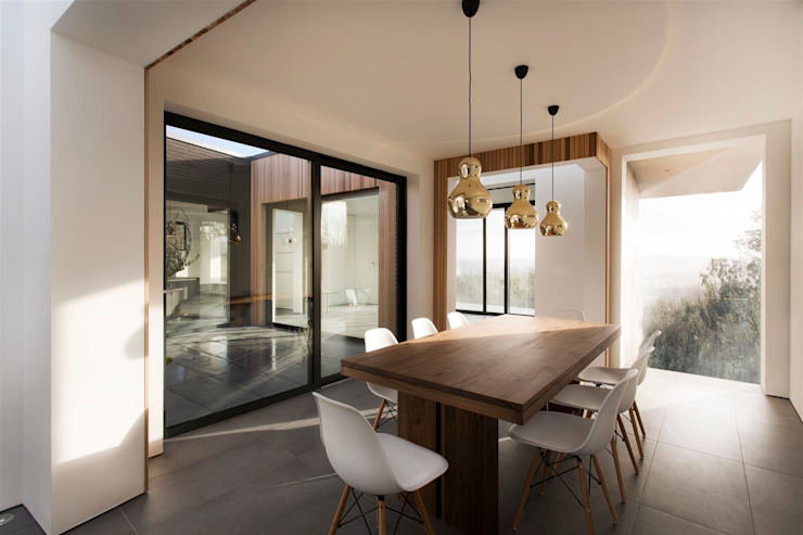 Dining room by AR Design Studio