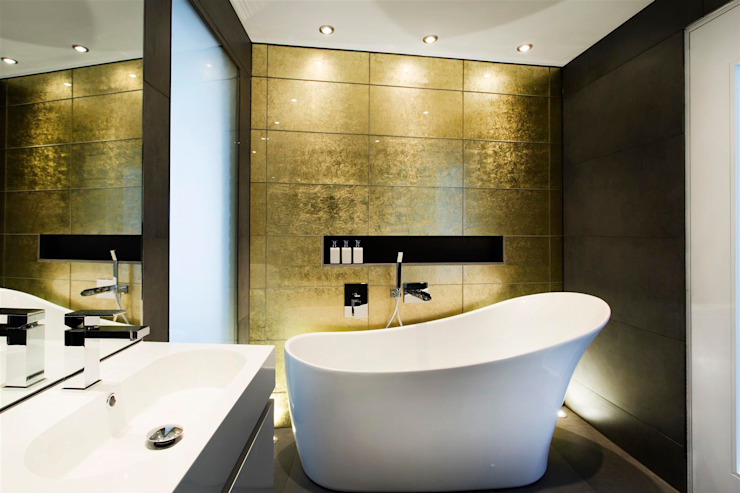 AR Design Studio- 4 Views Modern bathroom by AR Design Studio Modern