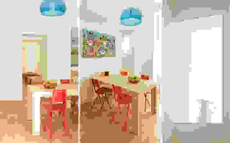CASA PRIVATA 01 – ristrutturazione d'interni Sala da pranzo moderna di 81millimetri Moderno