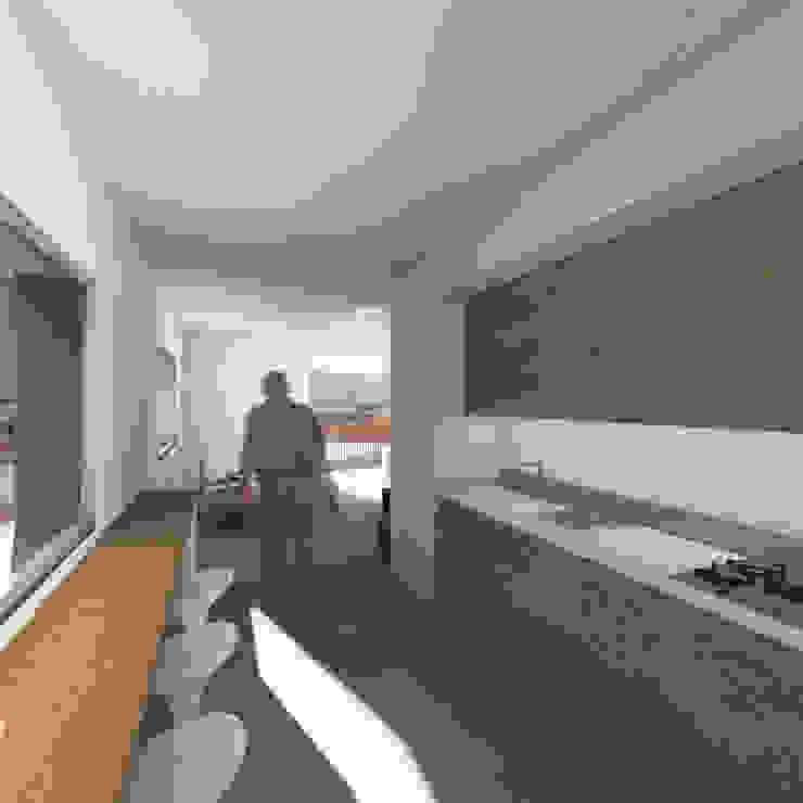 廚房室 根據 Conzinu Desteghene Architetti