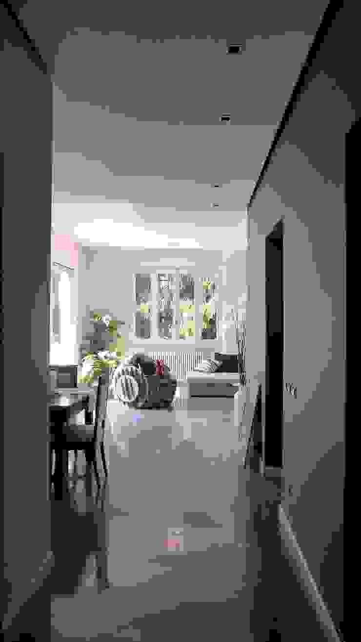 Living Ingresso, Corridoio & Scale in stile moderno di Blocco 8 Architettura Moderno