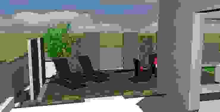 Balcones y terrazas modernos: Ideas, imágenes y decoración de Art Bor Concept Moderno