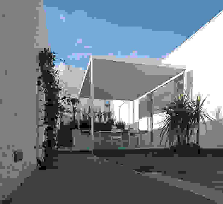 Casa ASM Balcone, Veranda & Terrazza di Arch. Nunzio Gabriele Sciveres
