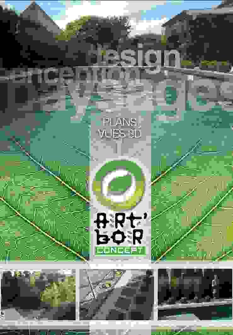 Art Bor Concept Modern garden