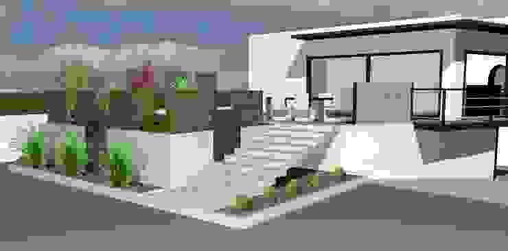 Jardin Zen Maisons modernes par Art Bor Concept Moderne
