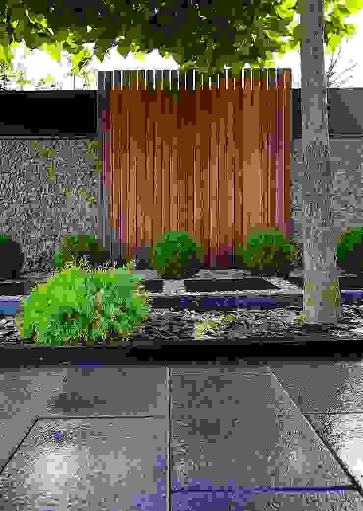 Jardin Zen Balcon, Veranda & Terrasse modernes par Art Bor Concept Moderne