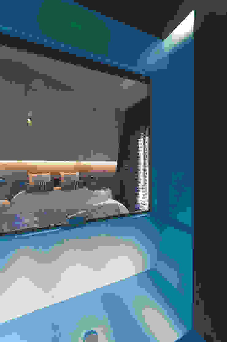 Casa Victoire Camera da letto moderna di Enrico Muscioni Architect Moderno