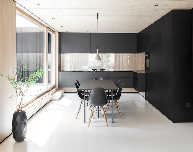 Kitchen by FORMAT ELF ARCHITEKTEN,