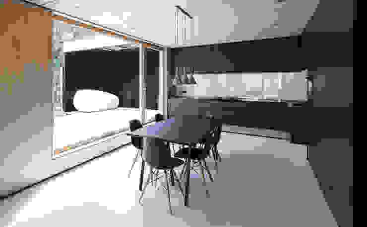 House B Moderne Esszimmer von FORMAT ELF ARCHITEKTEN Modern