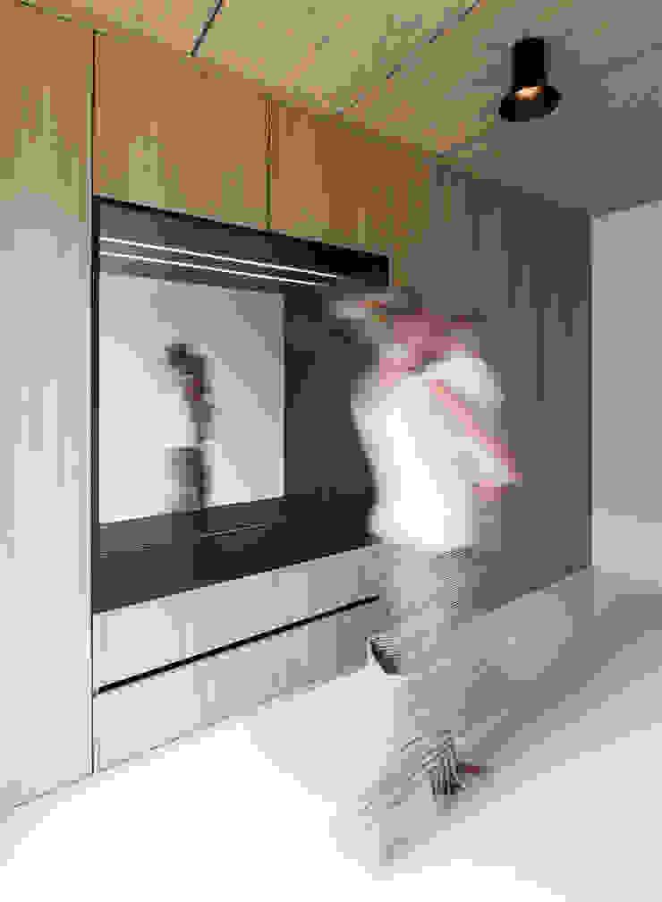 House B Moderne Wohnzimmer von FORMAT ELF ARCHITEKTEN Modern