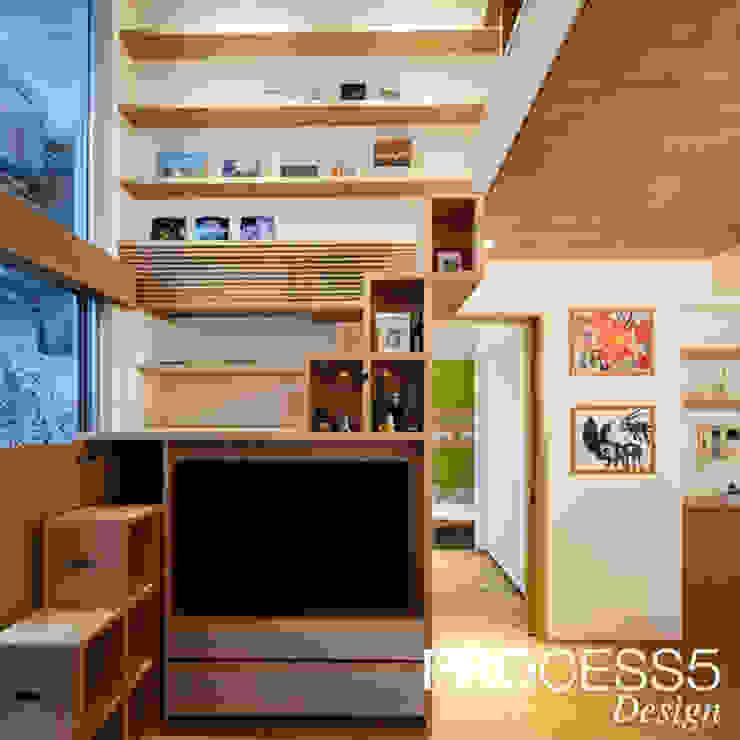 ST Family Residence ミニマルデザインの 多目的室 の 株式会社PROCESS5 DESIGN ミニマル