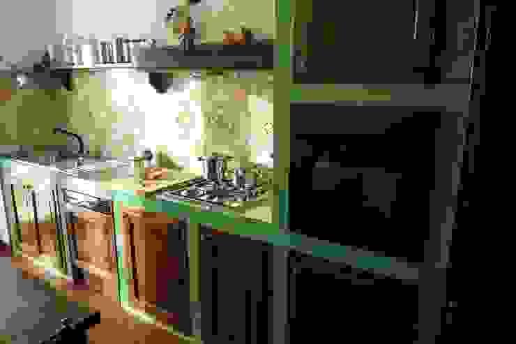 Cucina in uratura di Studio 3.14 Mediterraneo