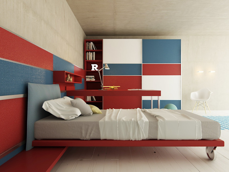 Bedroom by Voice Tec srl,
