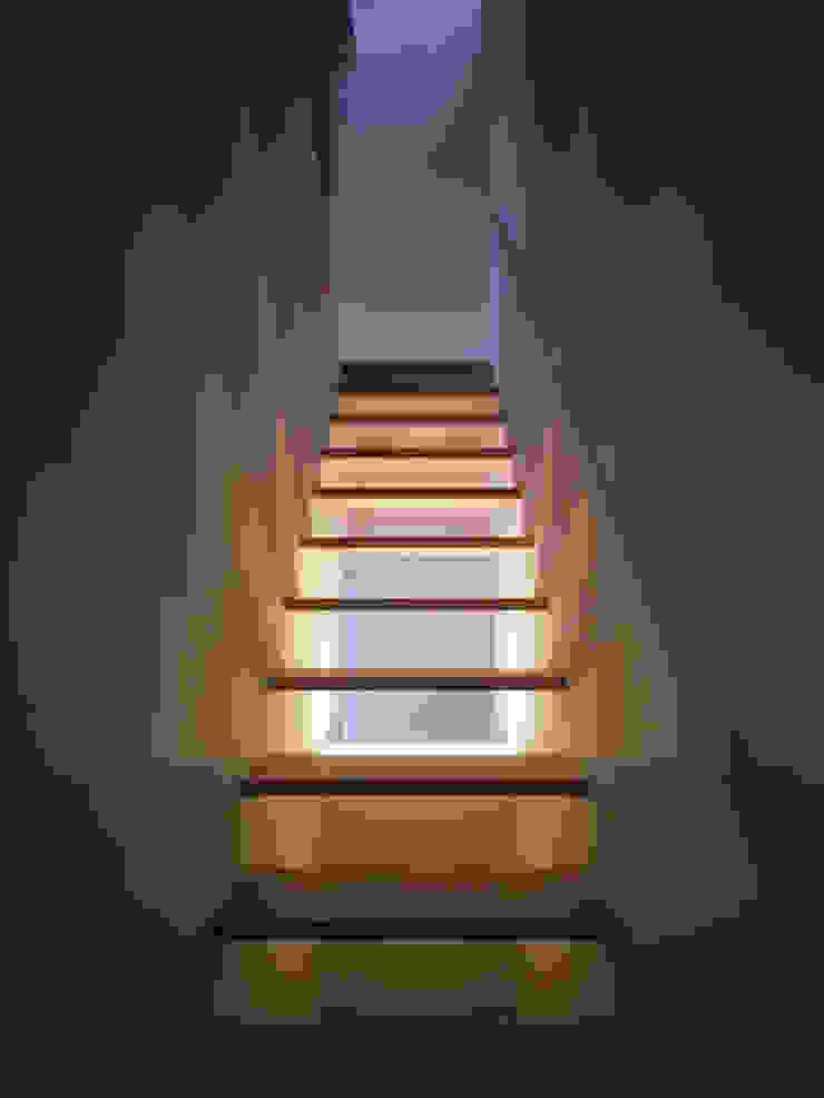 松が丘の家 モダンスタイルの 玄関&廊下&階段 の 小田裕二建築設計事務所 モダン
