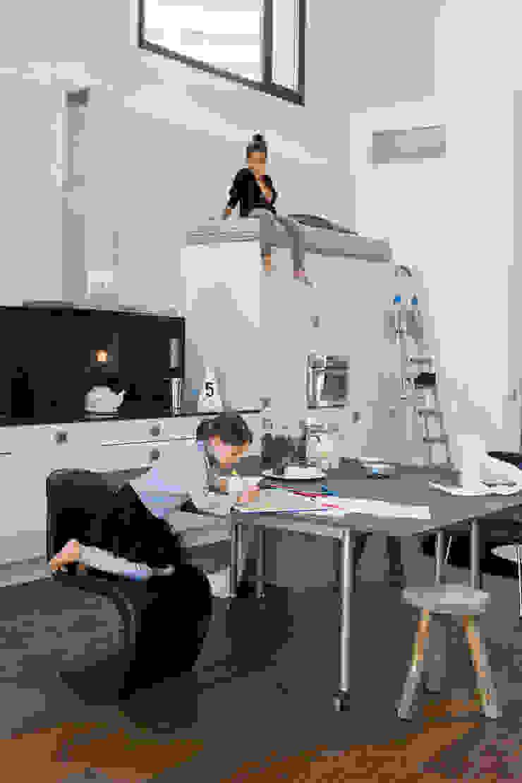 Industrial style study/office by BARASONA Diseño y Comunicacion Industrial