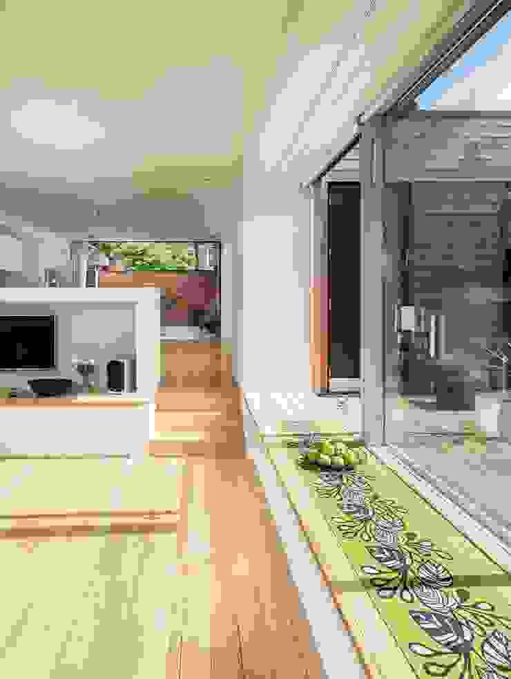 Courtyard House – East Dulwich Modern Oturma Odası Designcubed Modern