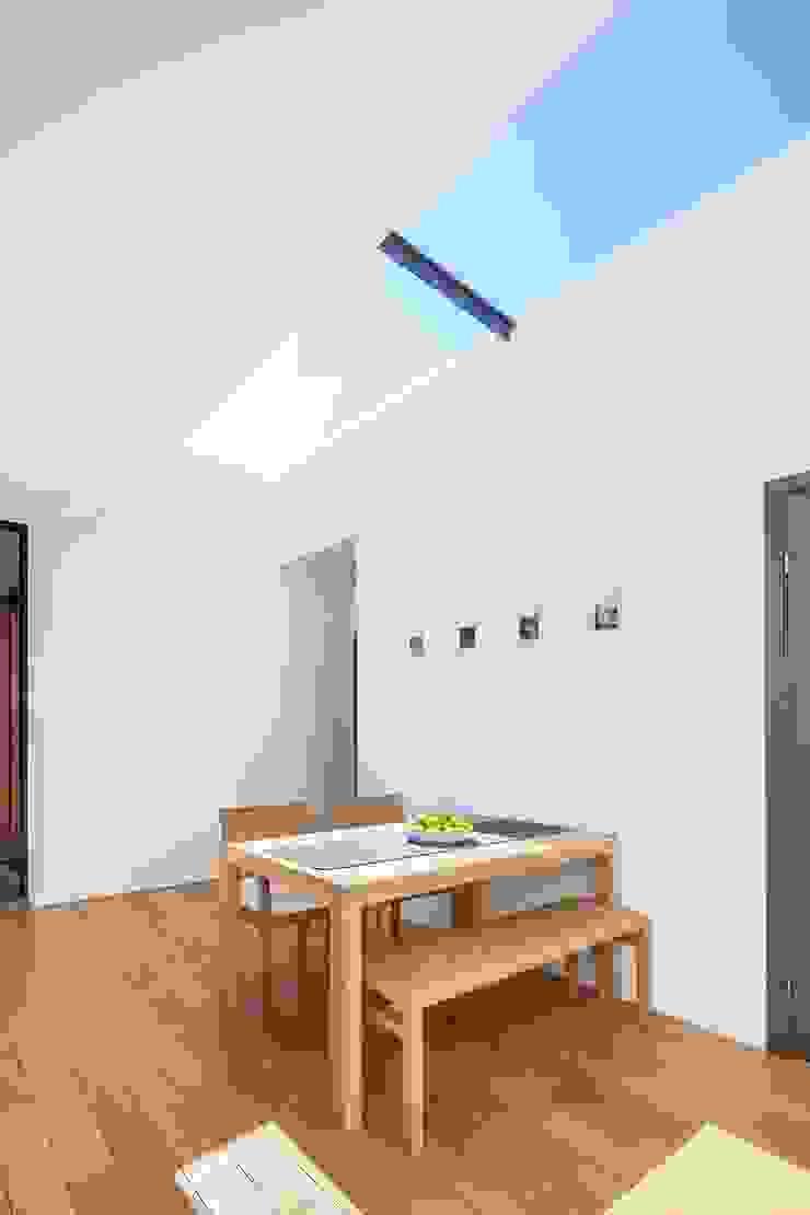 Courtyard House – East Dulwich Modern Yemek Odası Designcubed Modern