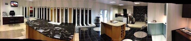 Showroom Picture: modern  by Croydon Granite Ltd, Modern