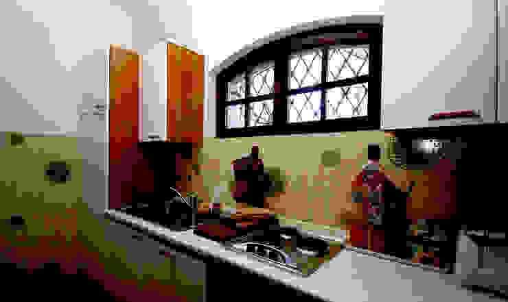 Villa Lago Maggiore – Italia Cucina in stile rustico di Marco Barbero Rustico