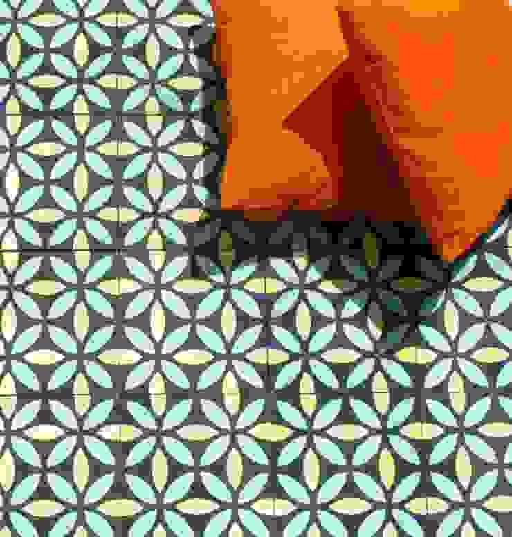 Oasis cement tile de Maria Starling Design Mediterráneo