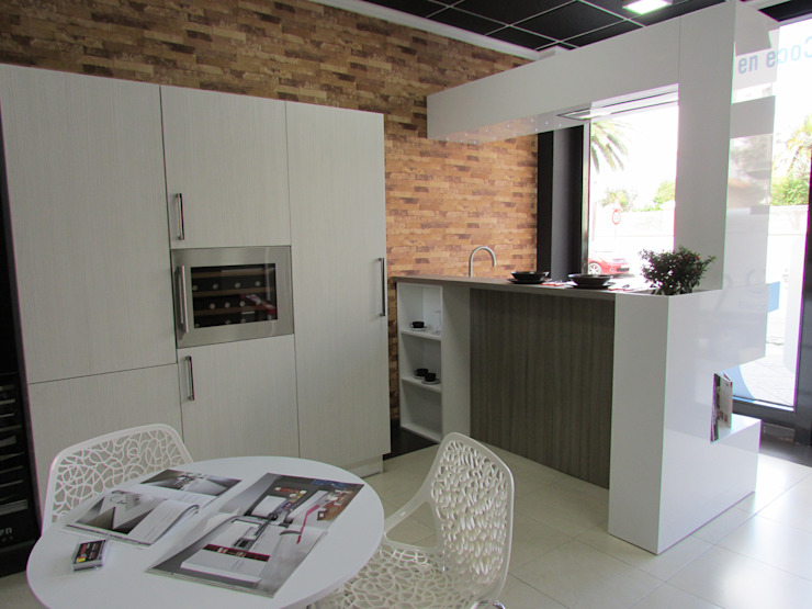 de modern kitchen