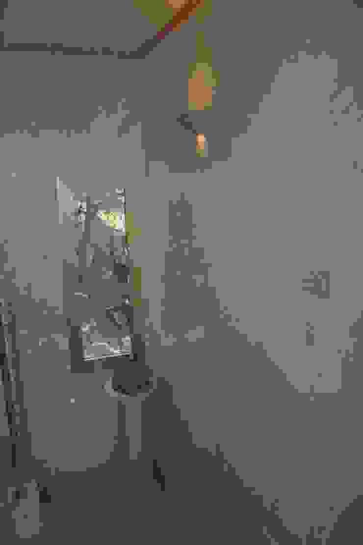Marmormalerei im Treppenhaus Mediterrane Badezimmer von Illusionen mit Farbe Mediterran