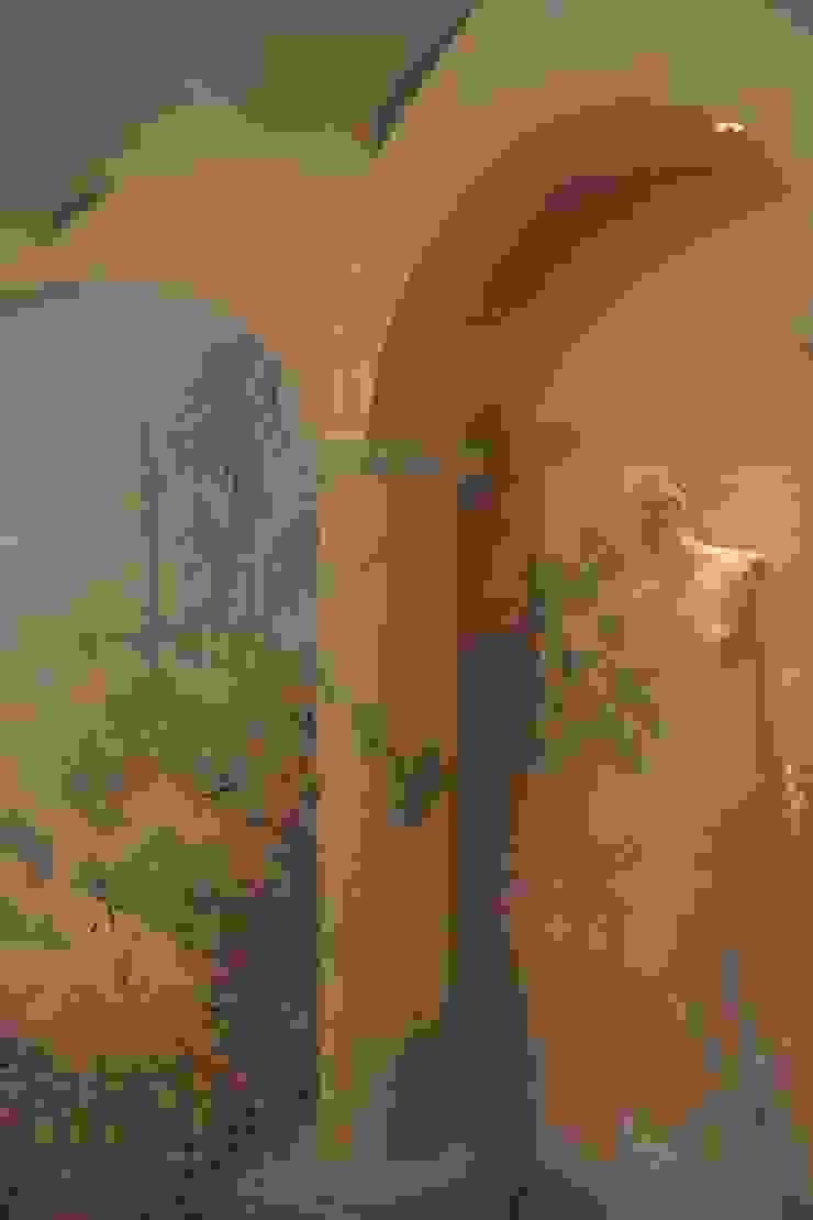 Marmormalerei mit Wandmalerei von Illusionen mit Farbe Mediterran