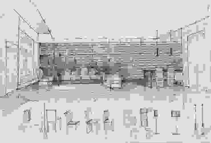 Casa M Case moderne di Monica Alejandra Mellace Moderno