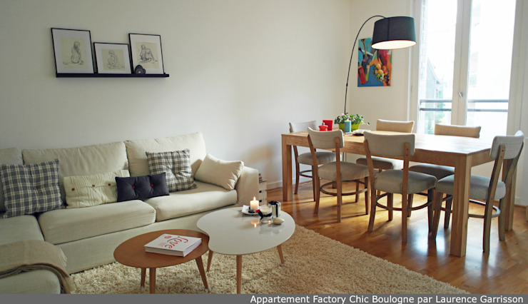 La Decorruptible Modern Living Room
