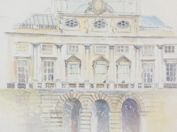Somerset House, London. by Valerie Cook House Portraits