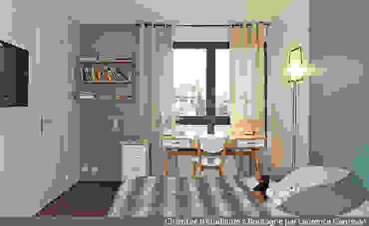 La Decorruptible Scandinavian style bedroom