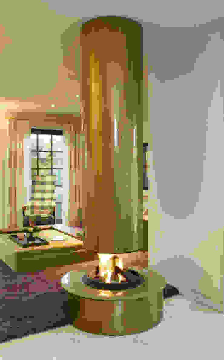 cheminee centrale metal par Bloch Design Classique