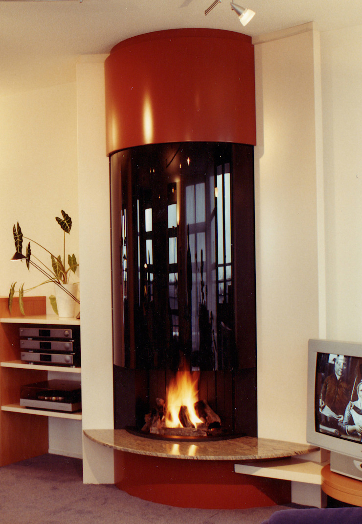 cheminée contemporaine par Bloch Design Moderne