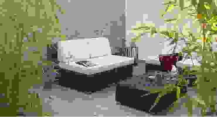 Modern balcony, veranda & terrace by Filippo Coltro architetto Modern