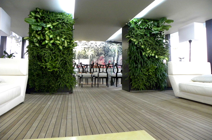 vertical garden Giardino moderno di Architettura & Servizi Moderno