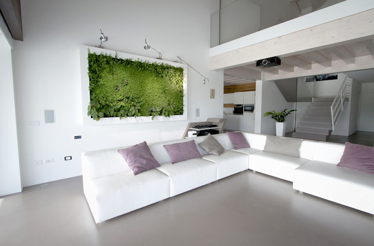 Гостиная в . Автор – Architettura & Servizi