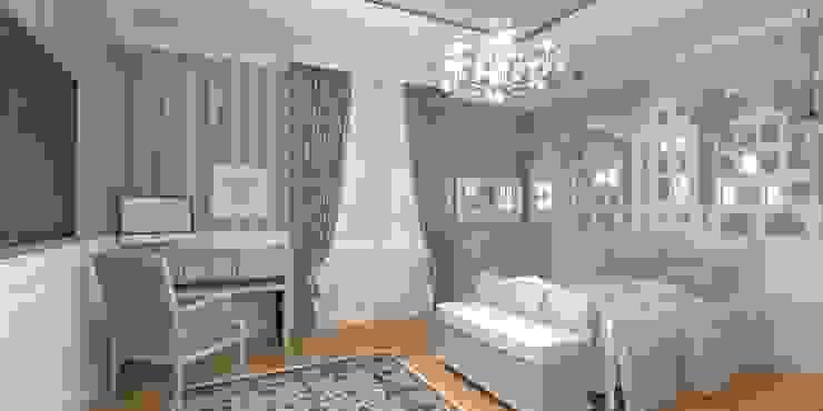 Благородная неоклассика Детская комнатa в классическом стиле от Студия Маликова Классический