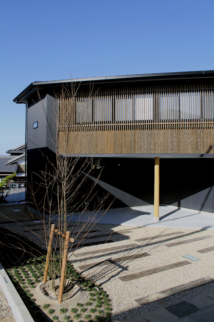 外観 日本家屋・アジアの家 の 秀田建築設計事務所 和風
